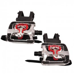 Pedal Spinningcykel Absore SPD Kombipedal, 2-pack